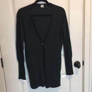 Lightweight wool cardigan